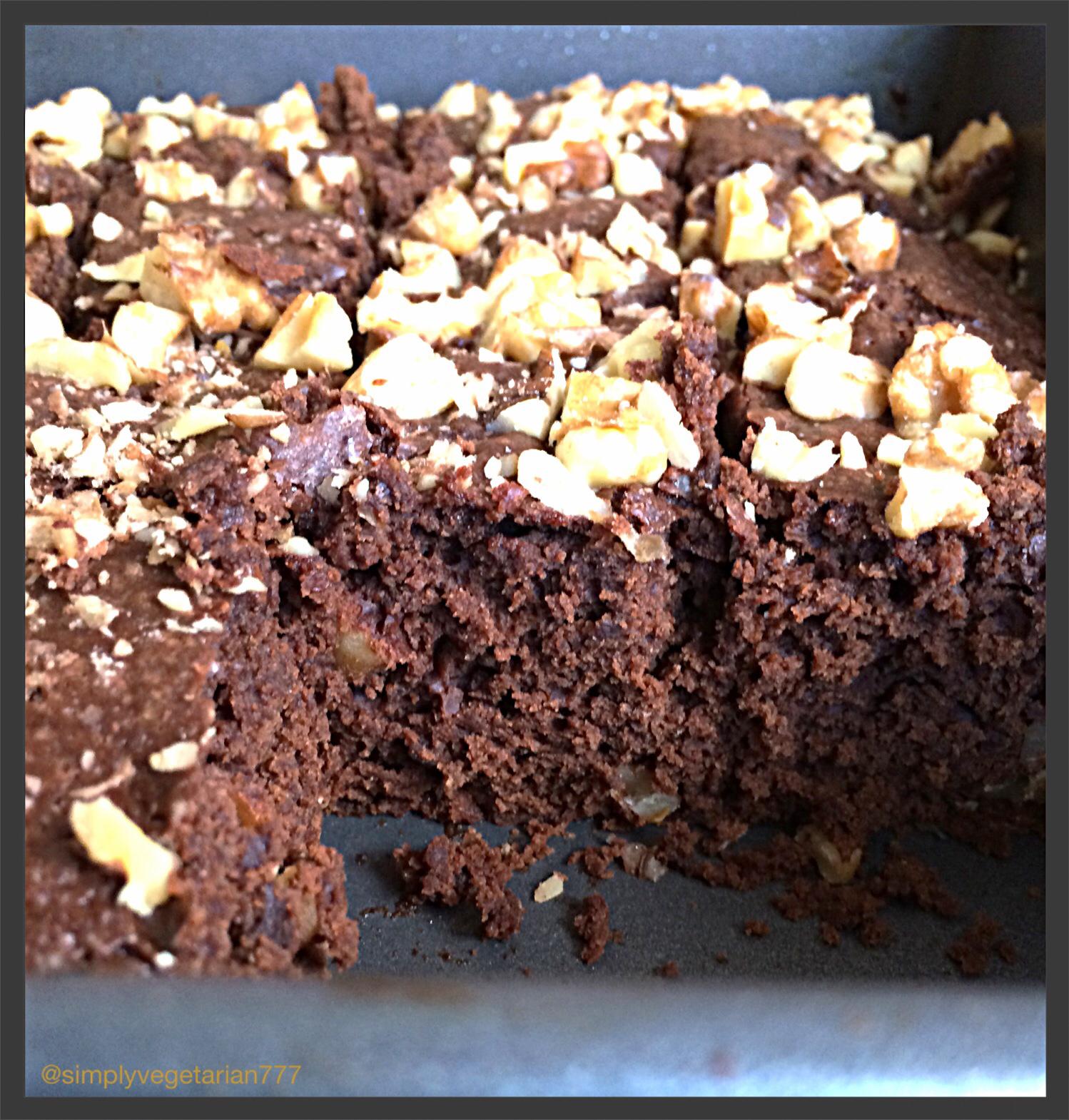 Soft Mocha Pecan / Walnut Brownie