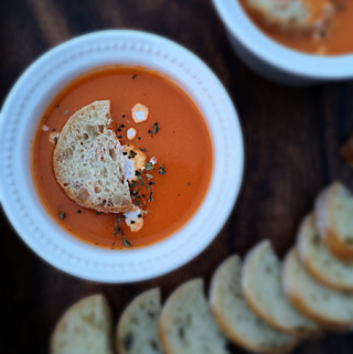 Restaurant Style Tomato Soup