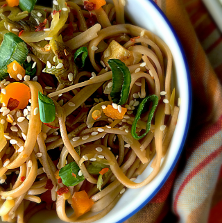 Honey Chili Lime Noodles