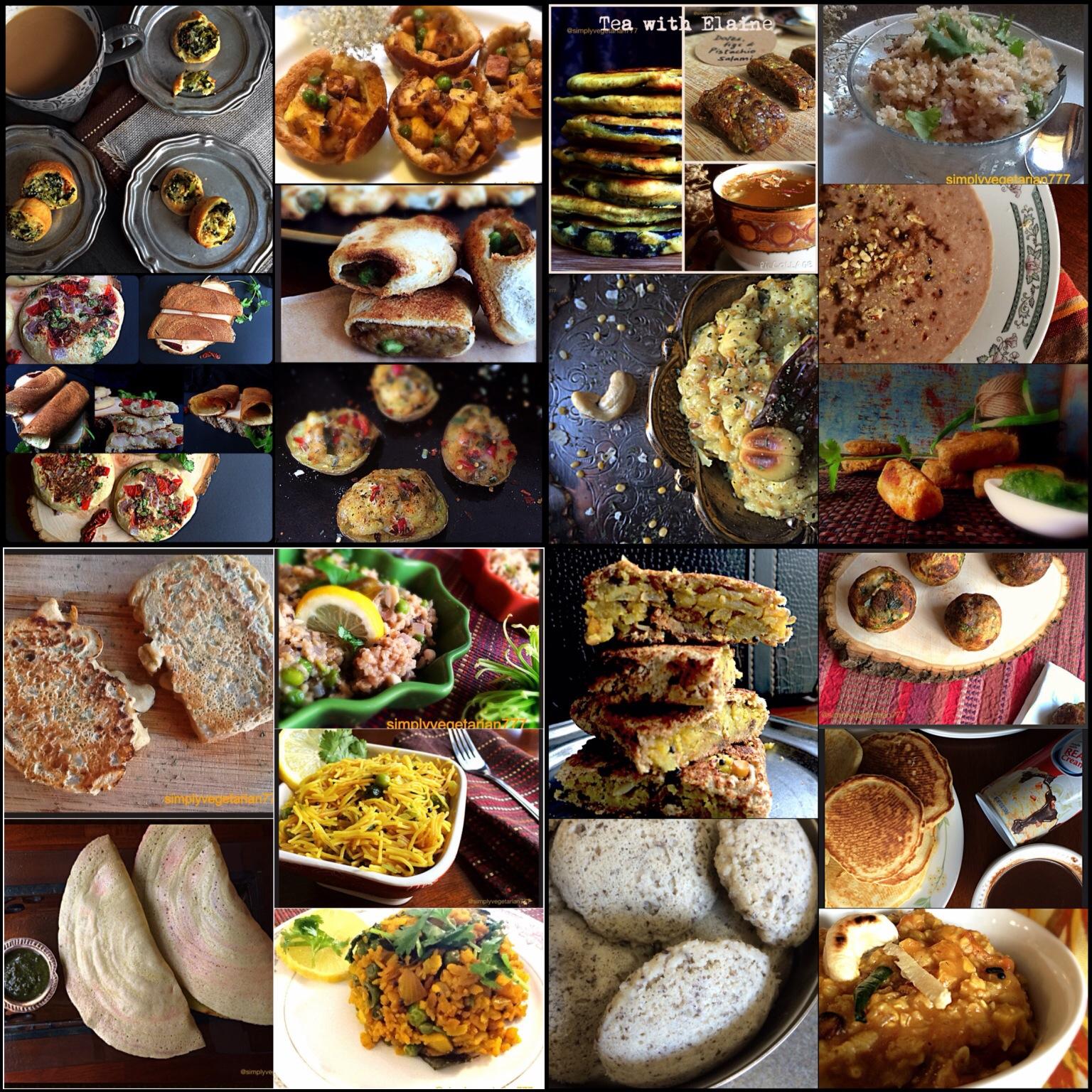 20 Vegetarian Breakfast Brunch Recipes Collection