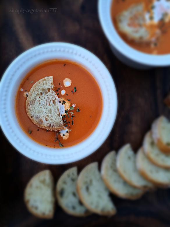 Tomato Soup, Restaurant Style