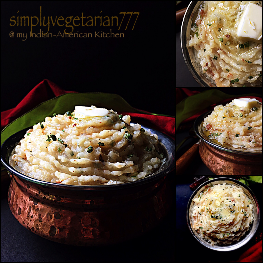 Garlicky Creamy Mashed Potatoes