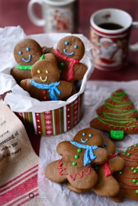 Chewy Gingerbread man Cookies by Simi