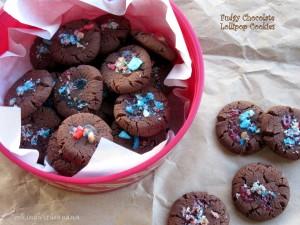 Fudgy Chocolate Cookies by Sapna