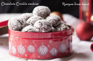 Chocolate Crinkle Cookies by Parvathy