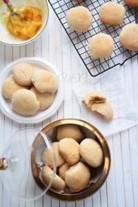 Pineapple Coconut Eggless Cookies by Binjal