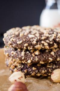 Dark Chocolate Molasses Cookies by Julie