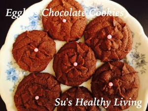 Eggless Chocolate Cookies by Suchitra