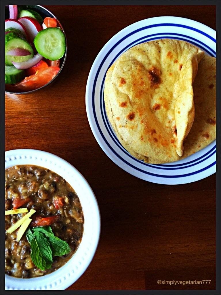 Dal Amritsari & Oven Baked Tandoori Roti