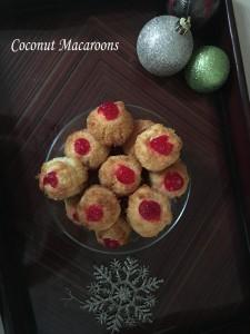 Coconut Macaroons by Sarika