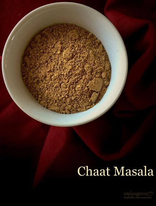 Chaat Masala - 2 Recipes