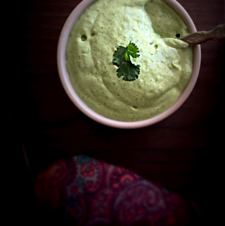 Avocado Yogurt Dip