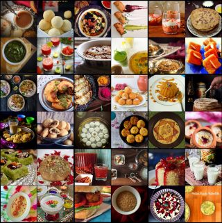 Holi Recipes Collection - 2016