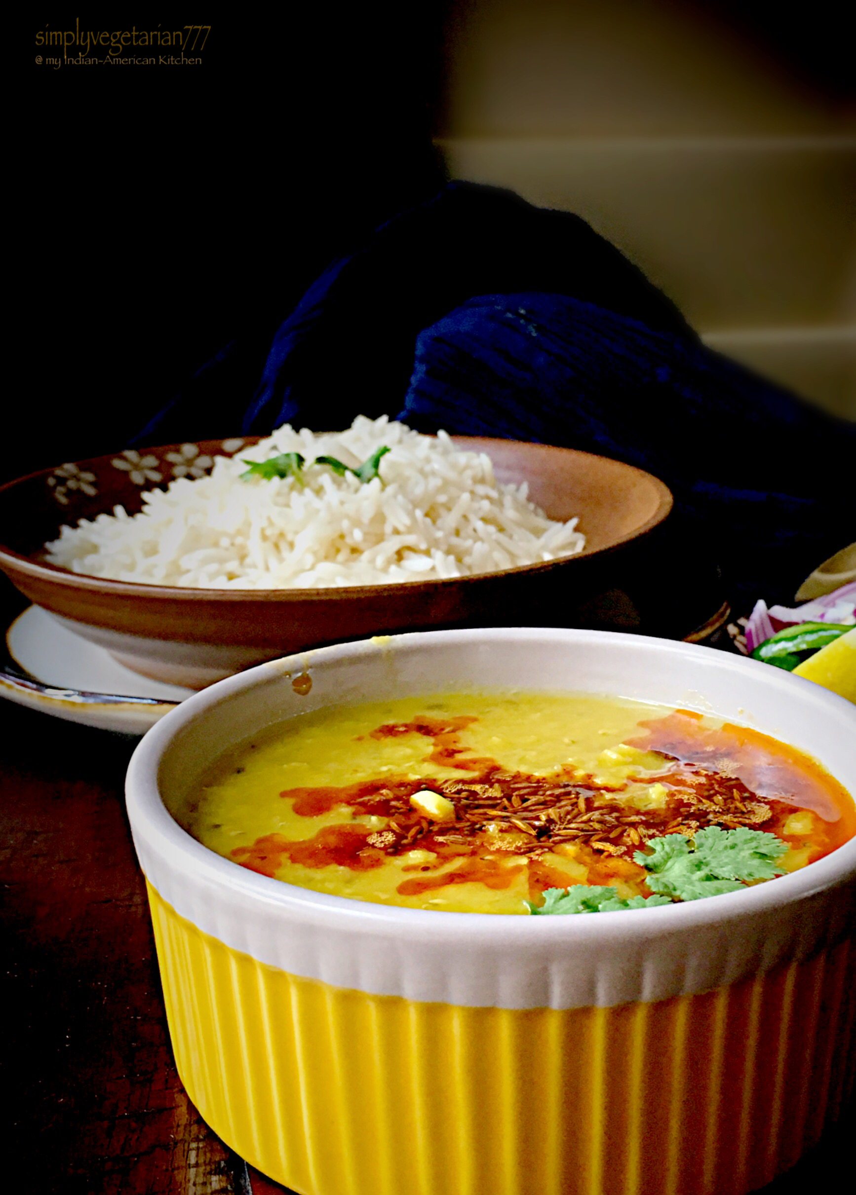 Dal Lehsuni - Red Lentils Cooked with Garlic