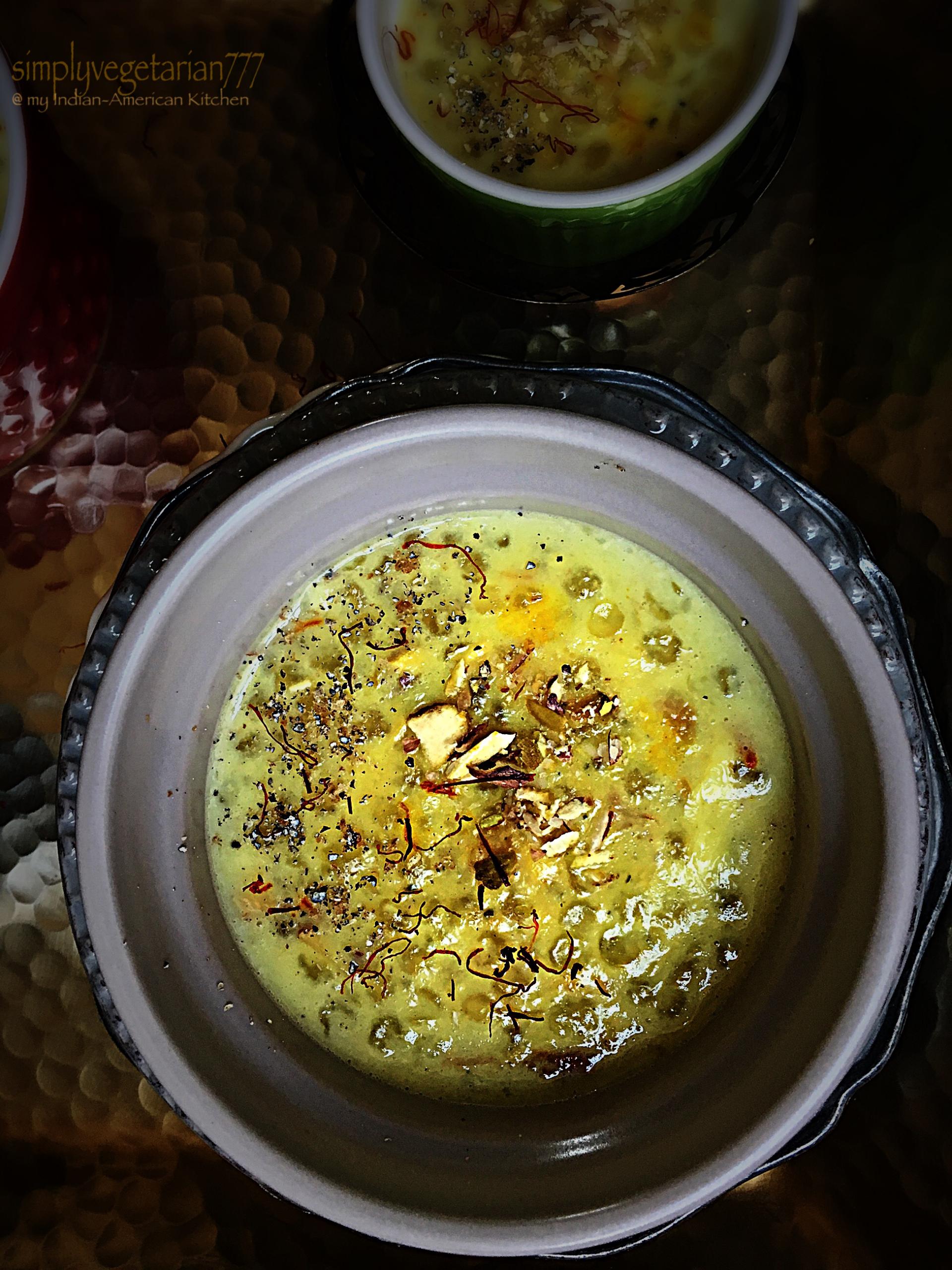 Sabudana Kheer / Sago Milk Pudding
