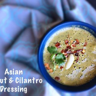 Asian Peanut & Cilantro Dressing