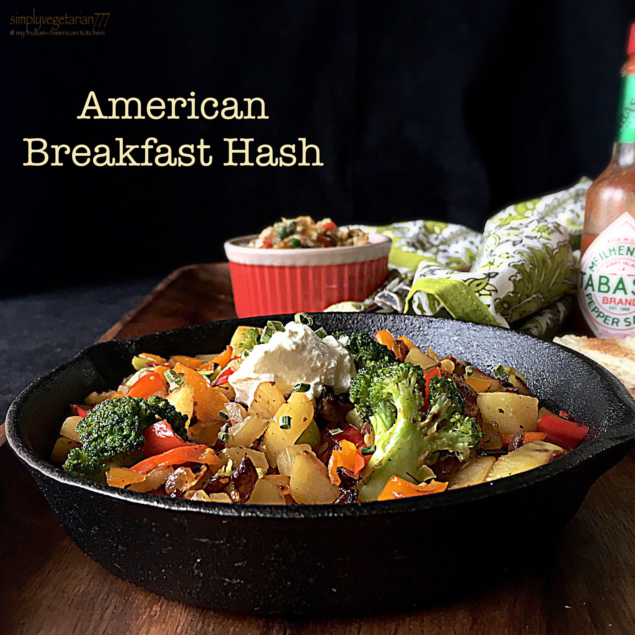 American Breakfast Hash