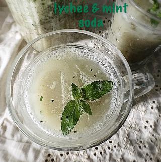 Lychee Mint Soda