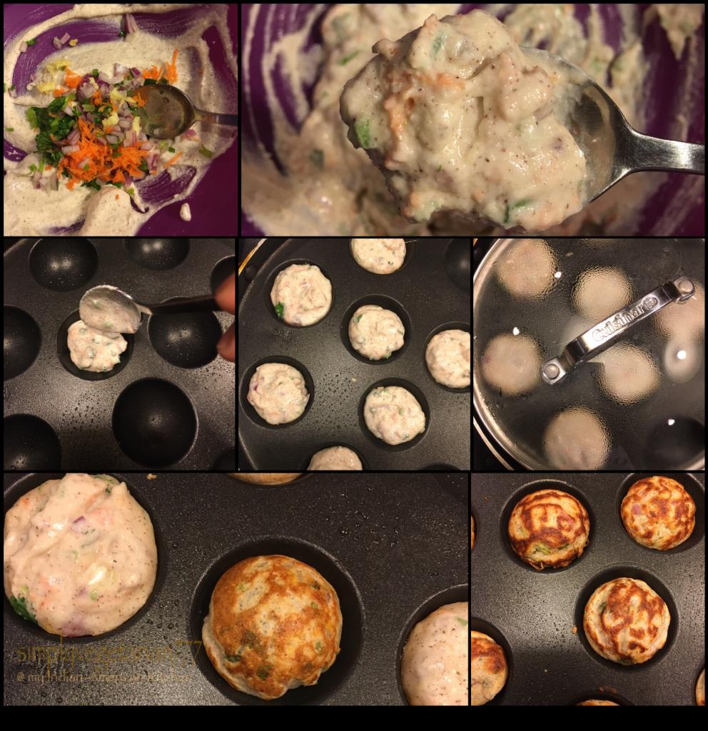 Mix Vegetable Multigrain Paniyaram