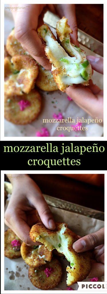 Mozzarella Jalapeño Croquettes