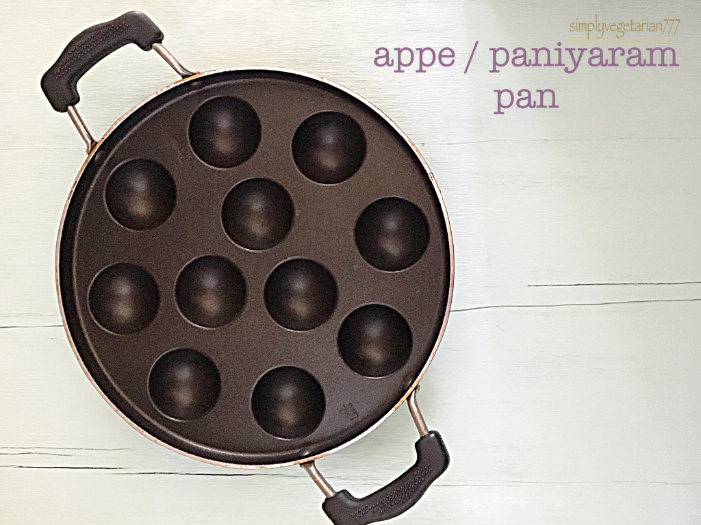 Appe / Paniyaram Pan