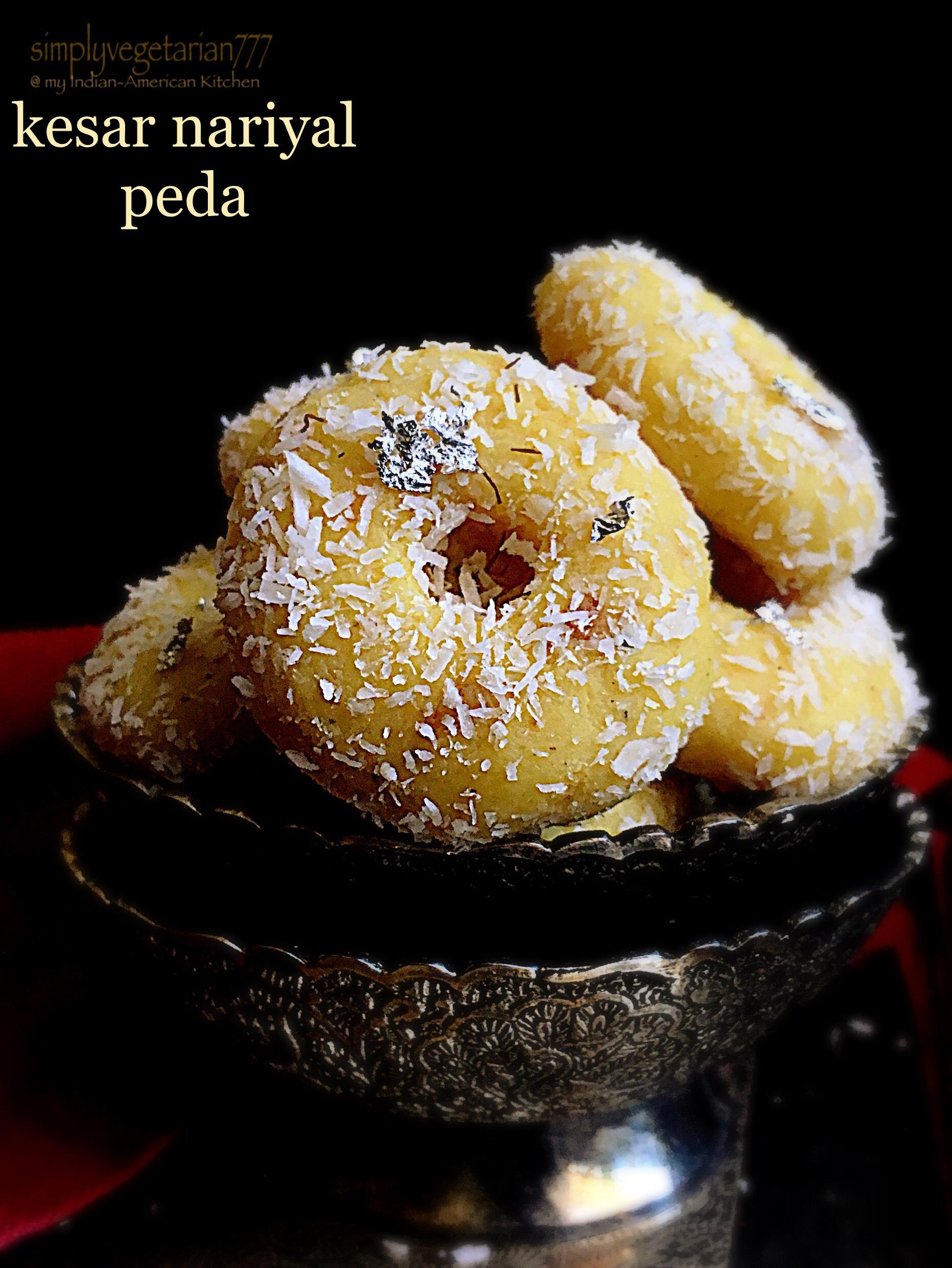 Kesar Nariyal Peda Good Recipe
