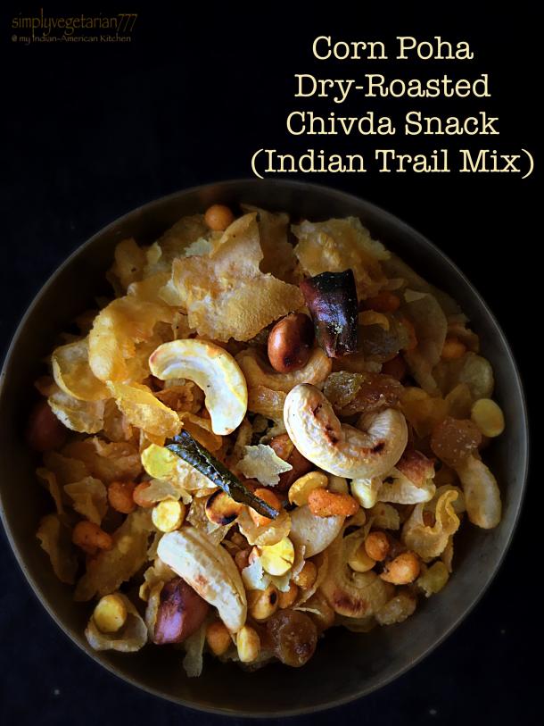 Corn Poha Dry Roasted Chivda