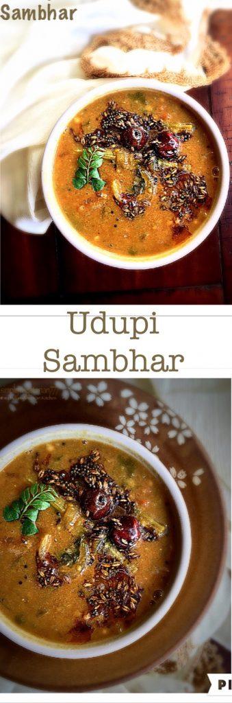 Udupi Style Sambhar