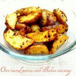 Oven Roasted Potatoes with Italian seasoning