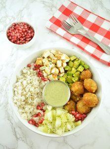 Spicy Sama Rice Salad Bowl