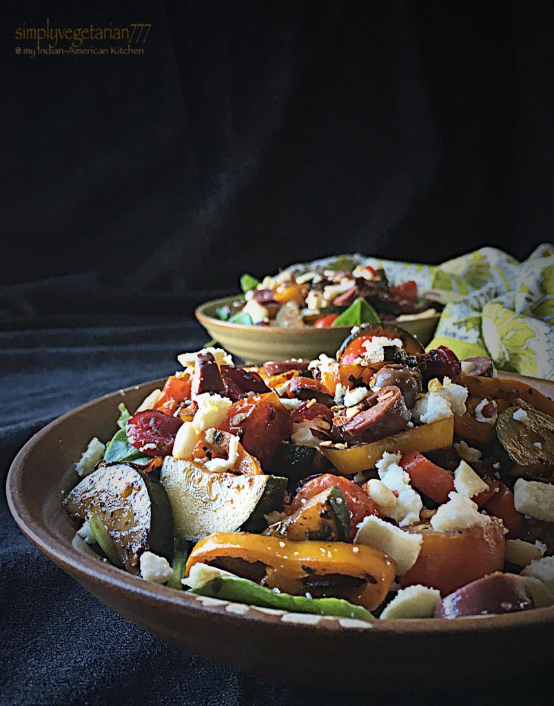 Mediterranean Warm Salad
