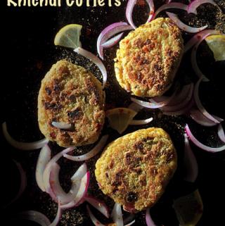 Khichdi Cutlets {Rice & Lentils Mash Cutlets}
