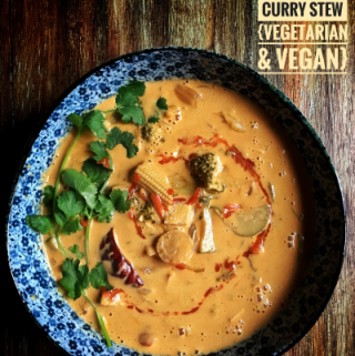 Thai Flavored Spicy Red Curry Stew