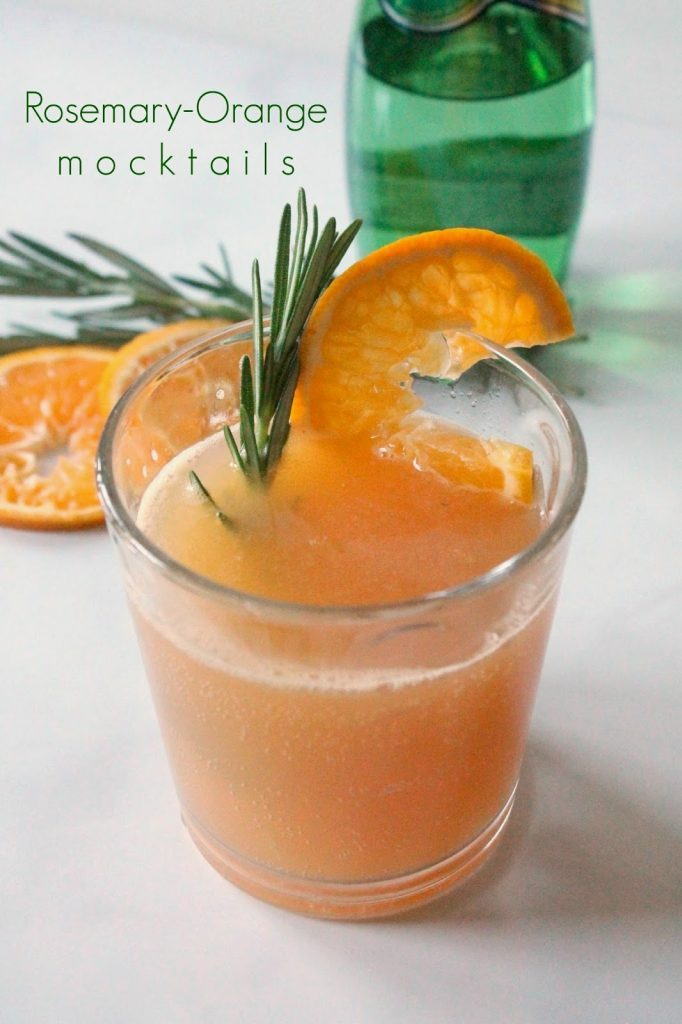 Orange Rosemary Mocktail