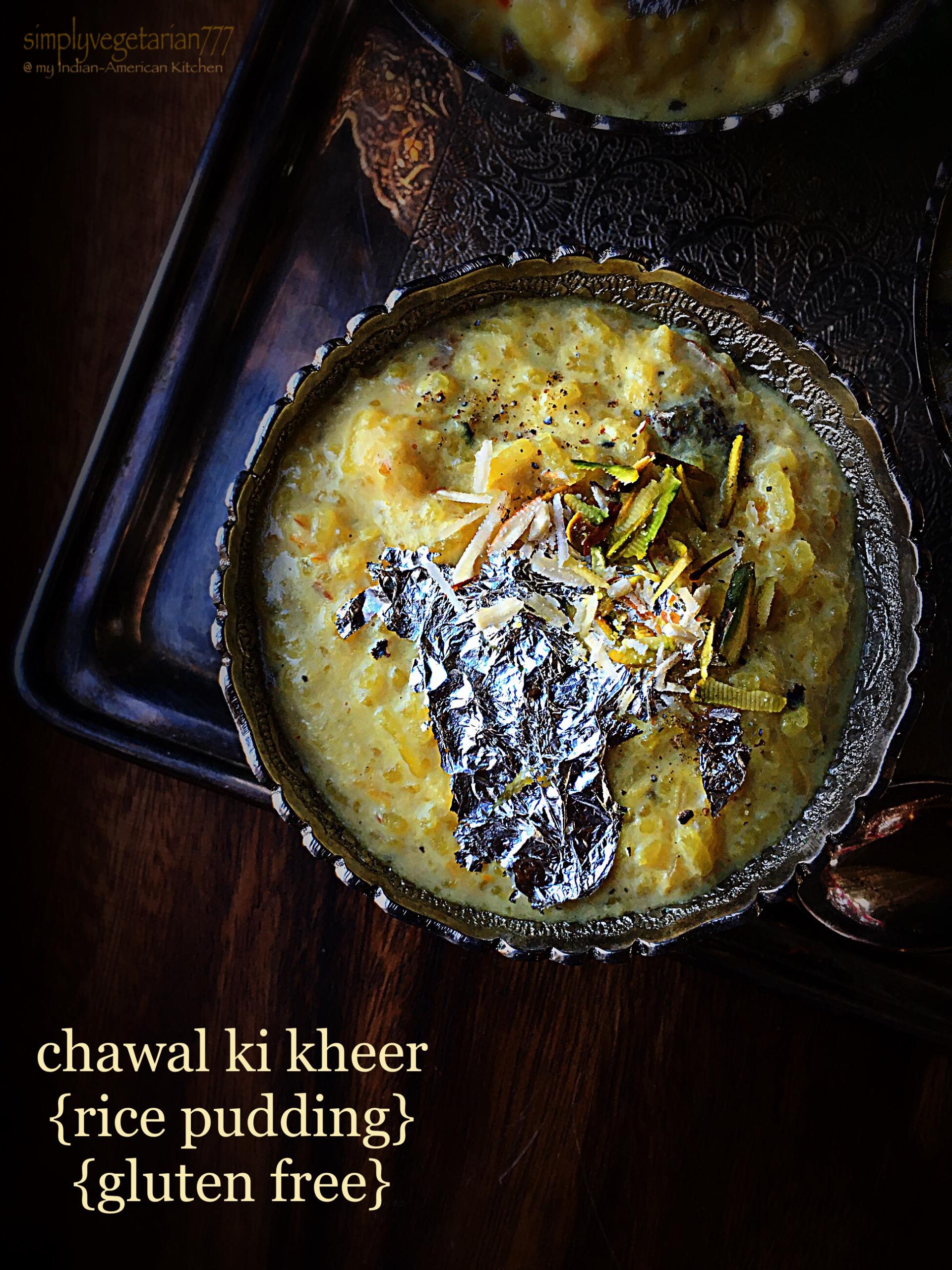 Chawal ki Kheer {Rice Pudding} - A Quick Recipe