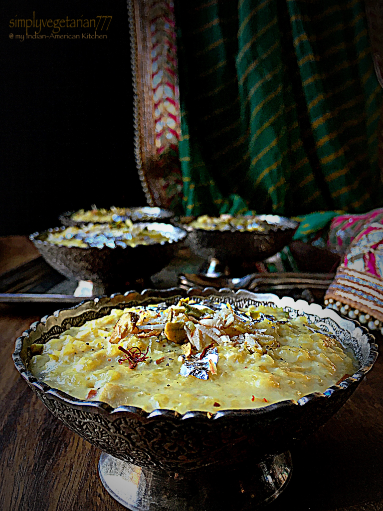 Chawal ki Kheer {Rice Pudding} - A Quick Recipe