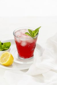 Black Currant Apple Mocktail