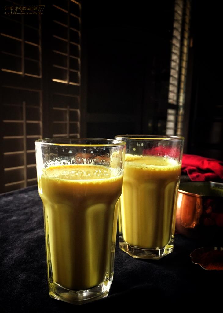 Turmeric Gold Milk {Haldi wala Doodh}