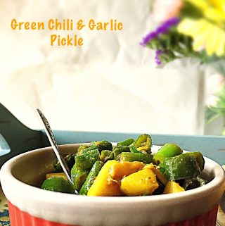Green Chili & Garlic Pickle