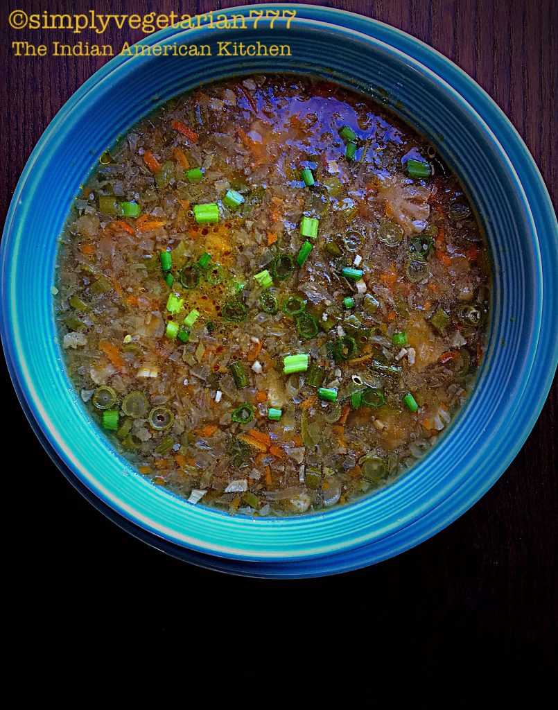 Winter Vegetables Soup {GlutenFree & Nutritious}