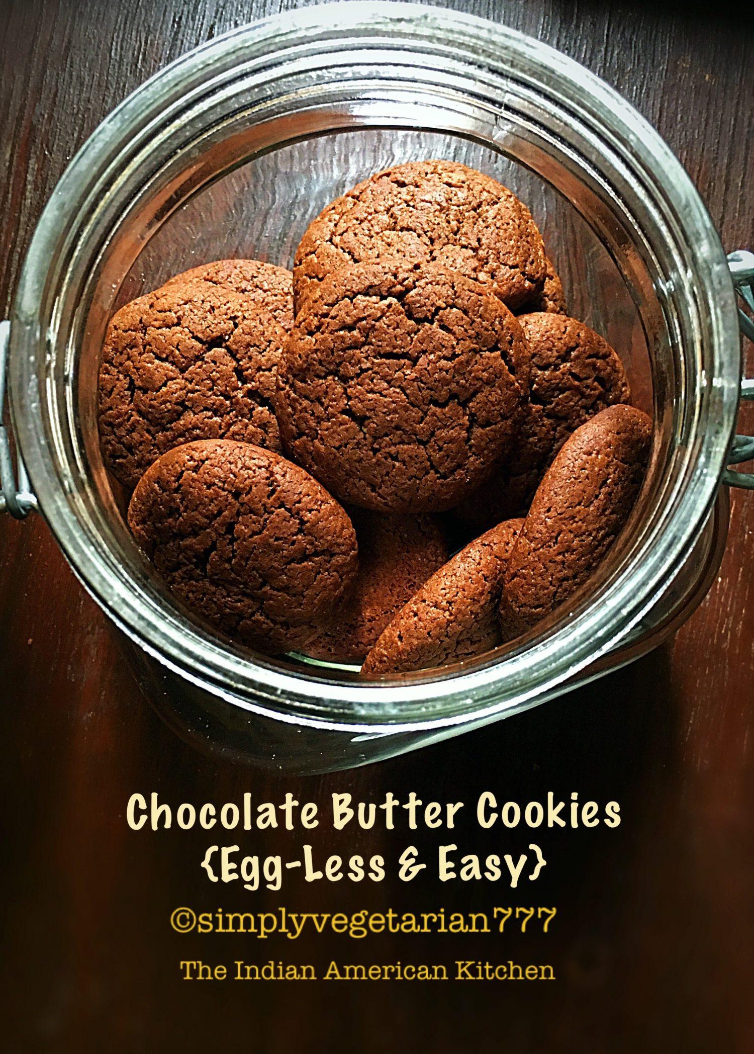 Chocolate Cookies - Eggless & Easy Recipe to make cookies at home