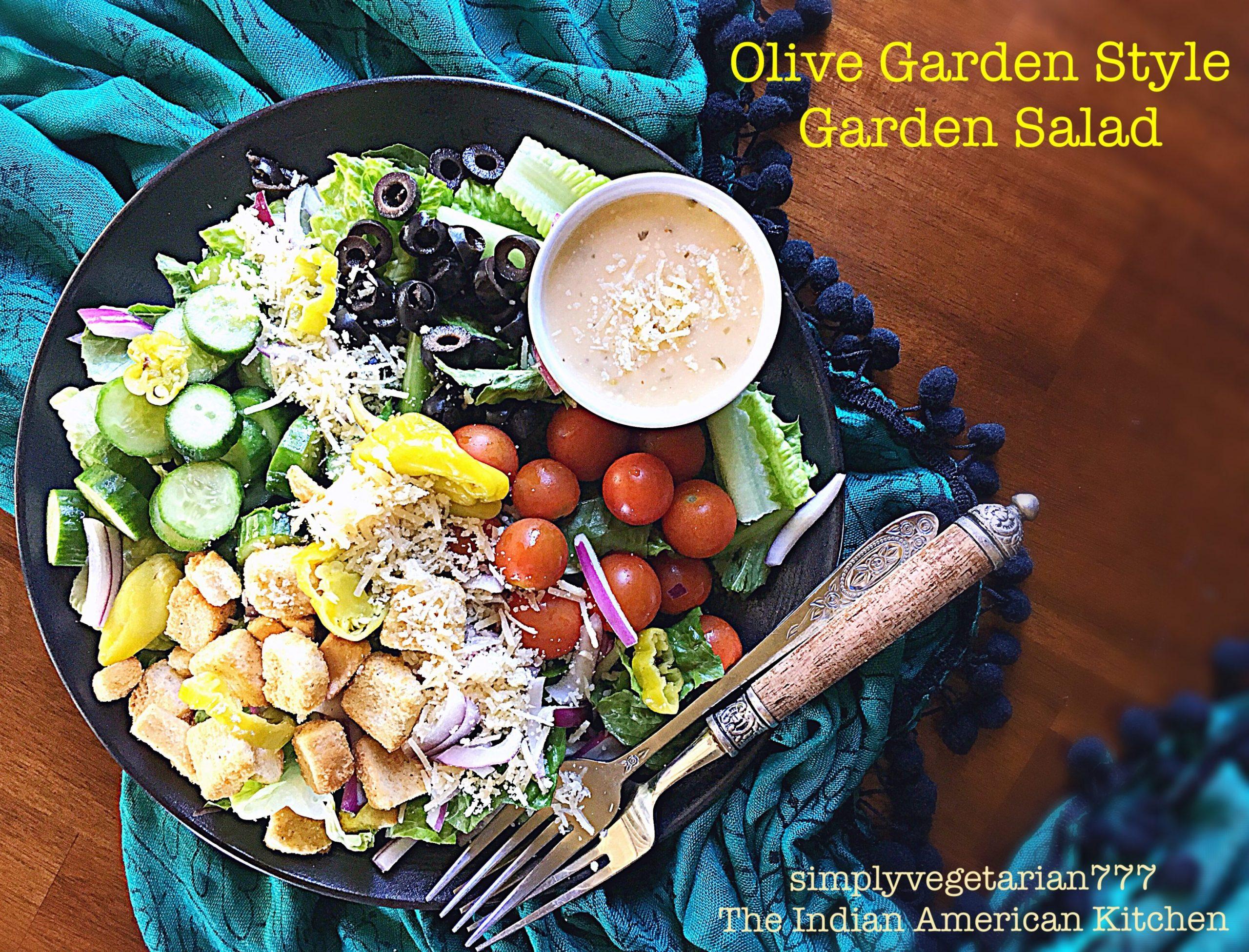 Olive Garden Style Garden Salad