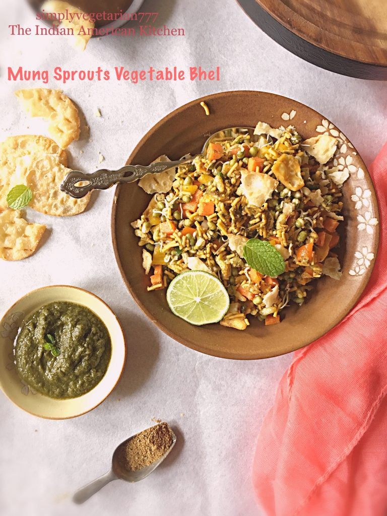 Mung Sprouts Vegetable Bhel
