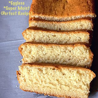 Basic Vanilla Cake - Super Moist & Eggless