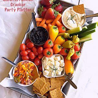Mediterranean Cracker Party Platter
