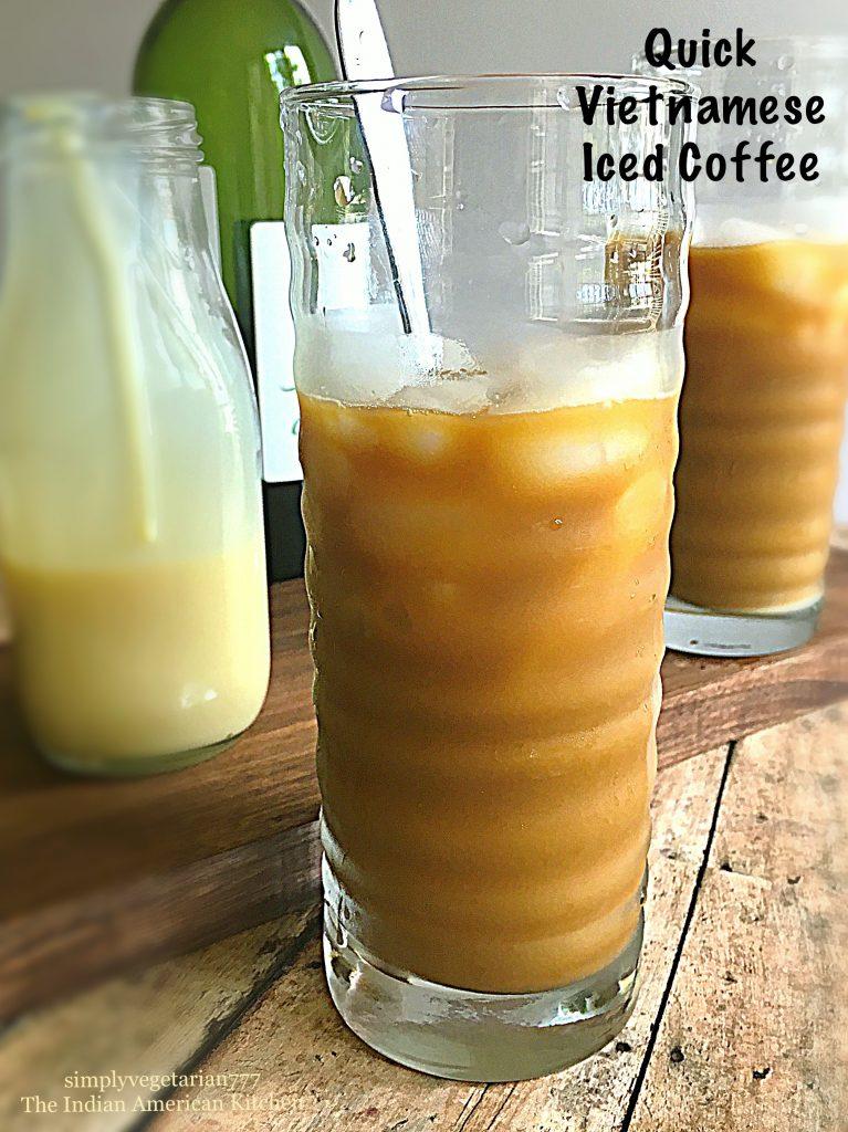Quick Vietnamese Iced Coffee