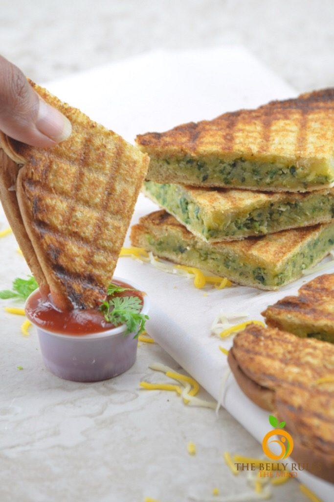 Grilled Falafel Sandwiches