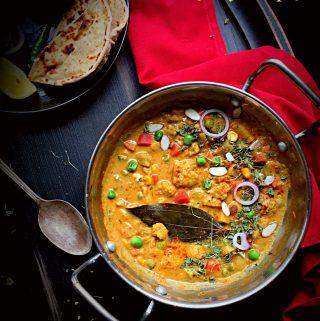 Easy Navratan Korma Recipe