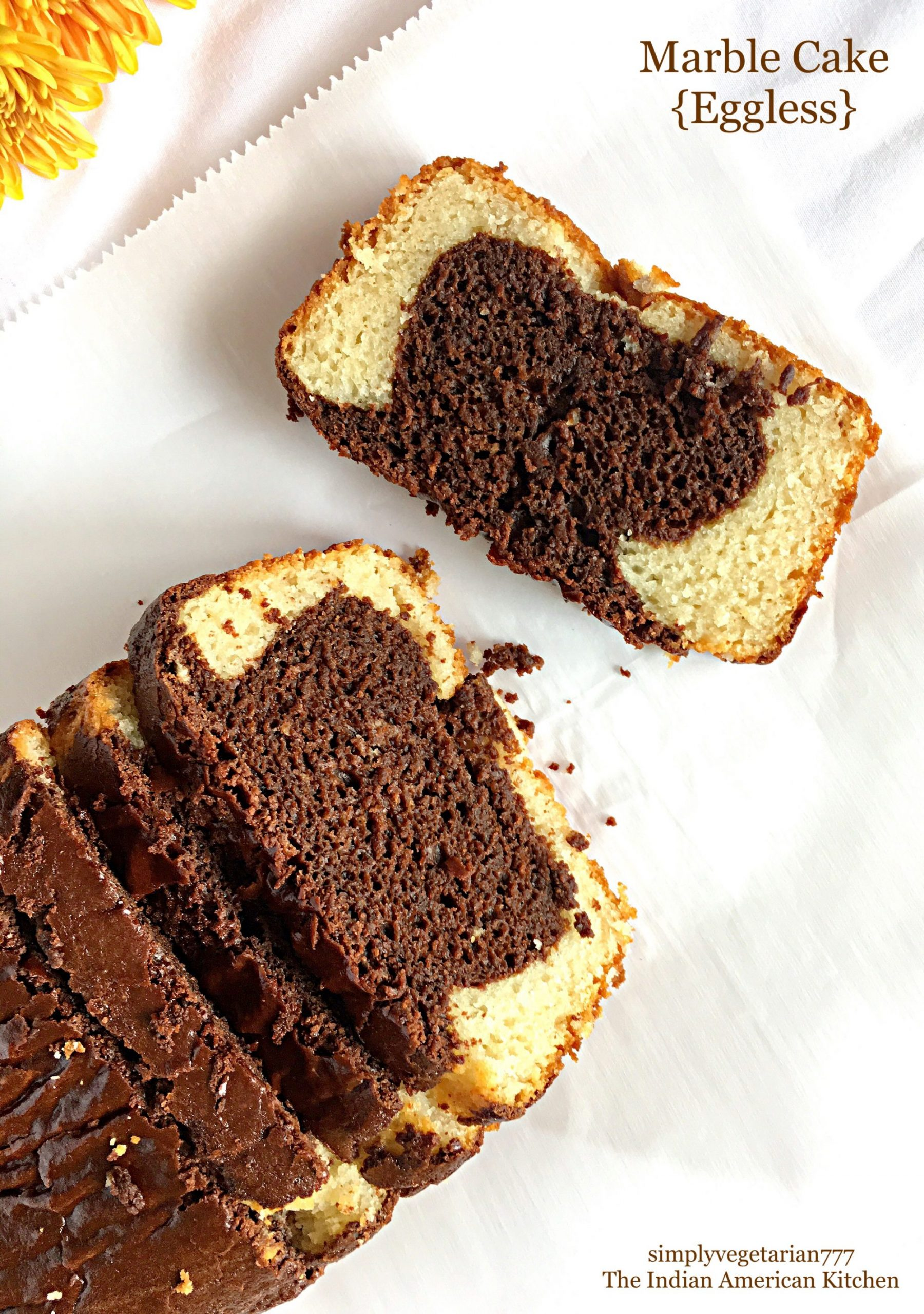 Eggless Marble Cake Easy Amp Delicious Recipe To Bake At Home