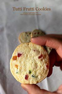 Tutti Frutii Cookies/Candied Peels Cookies